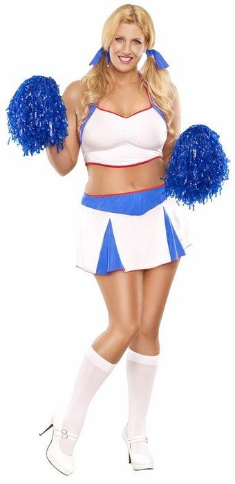 Plus size hairy cheerleaders