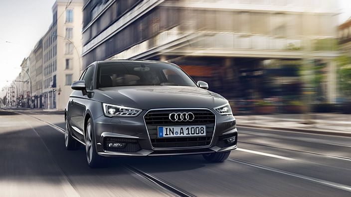 Audi A1 Audia1 2015 New Design Restyling Grey Grigia