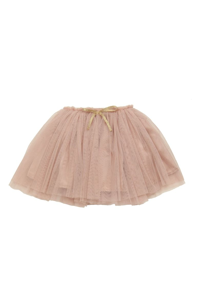 d58af47a4 Free shipping and returns on Popatu Tutu Skirt (Baby Girls) at  Nordstrom.com. Golden ribbon ties add to the irresistible charm of a fun,  flouncy ballerina ...
