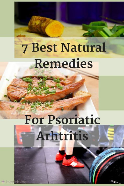 Psoriatic arthritis is a form of inflammatory arthritis that can form in people with psoriasis. While not curable, there are several natural remedies and lifestyle changes that can help relieve symptoms.