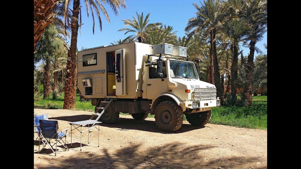 Orangework Unimog 1300l Motorhome Mercedes Trucks Expedition