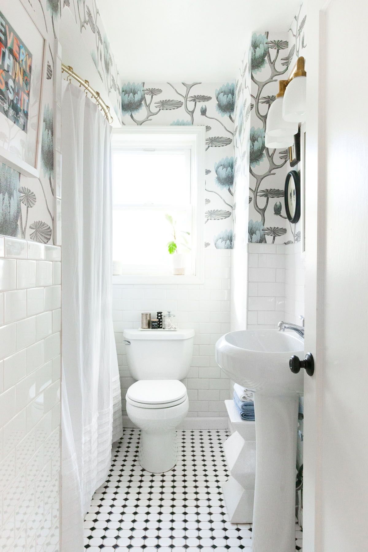 Makeover Reveal :: Our Mini Bathroom Update | bath | Pinterest ...