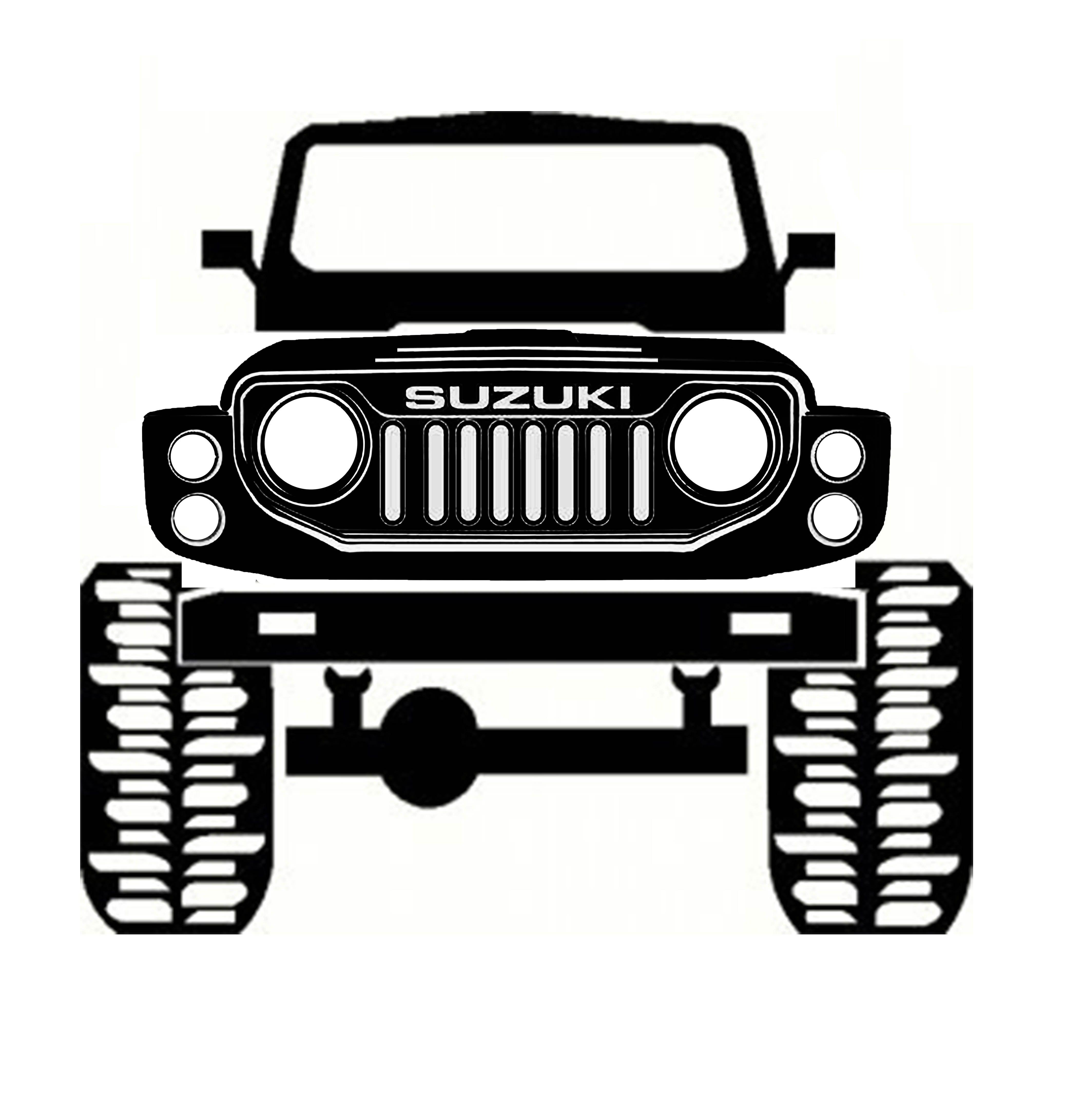 Samurai | Modifikasi mobil, Mobil, Kartun  |Cartoon Suzuki Samurai
