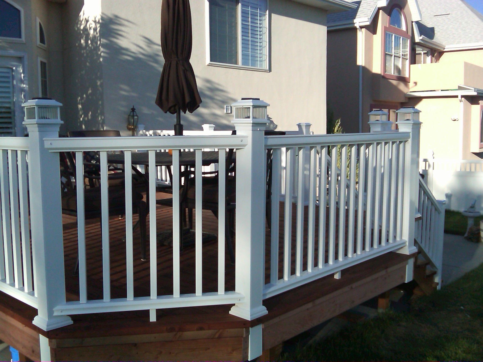Cheap Deck Railing Ideas Ugly Sad Exterior Help