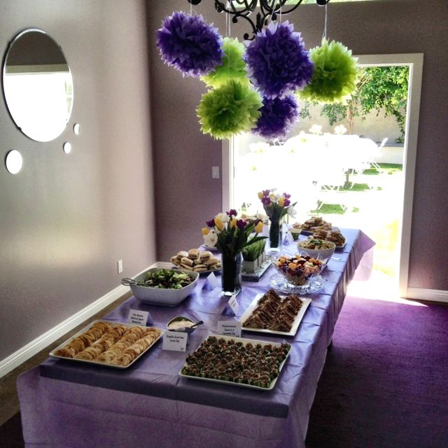 Food Ideas For A Lunch Baby Shower