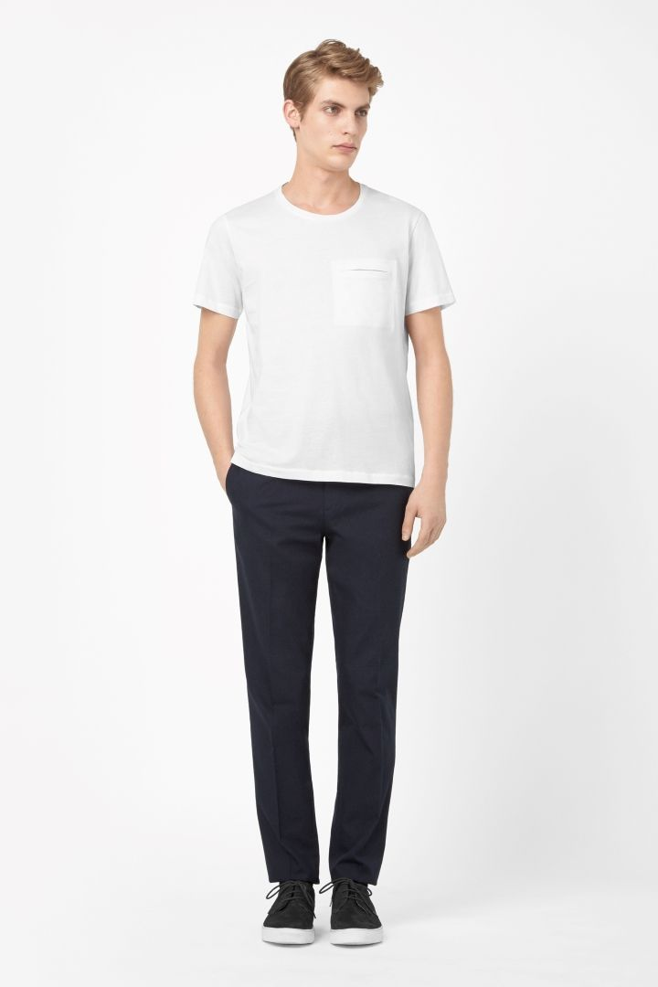 COS | T-shirt with clean pocket