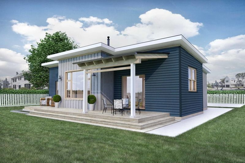 Modern Style House Plan 2 Beds 1 Baths 1000 Sq Ft Plan 924 10 Modern Style House Plans Micro House Plans House Design