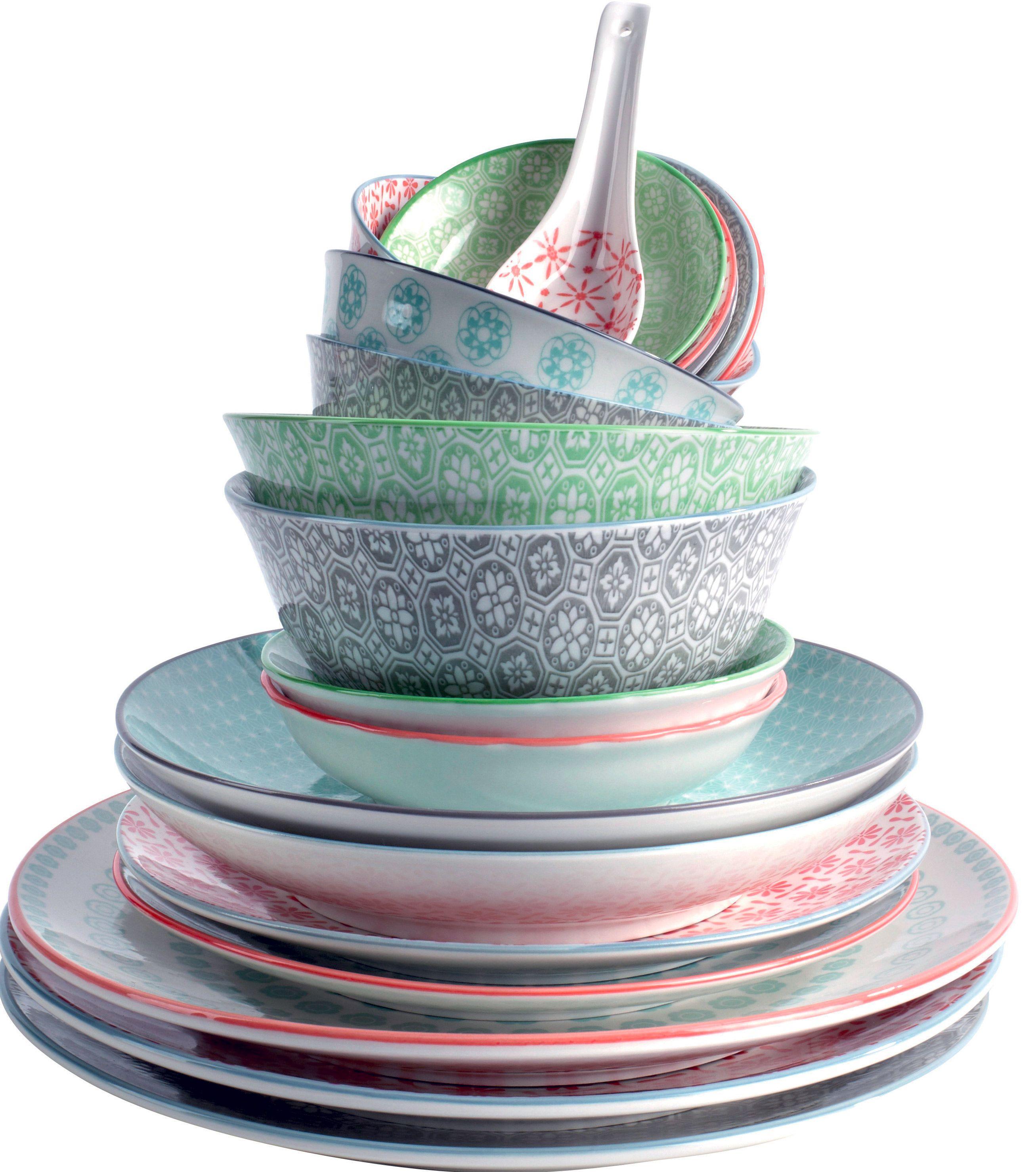 Vaisselle de chez casa collection orient multi wish for Magasin de vaisselle en ligne