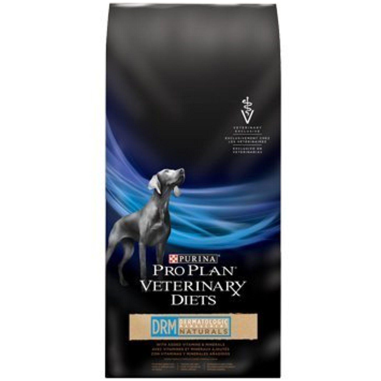 Purina Pro Plan Veterinary Diets Drm Naturals Dermatologic Management Formula Dry Dog Food 6 Lb You Could G Purina Pro Plan Purina Dog Food Dog Food Recipes