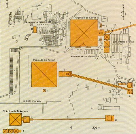 Resultado de imagen de plano de micerinos