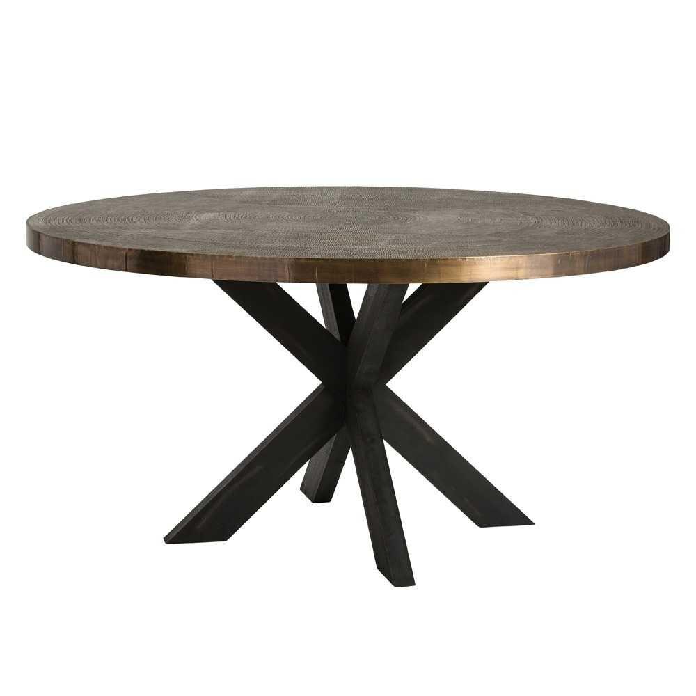 Arteriors Halton Dining Table Circular Dining Table Dining