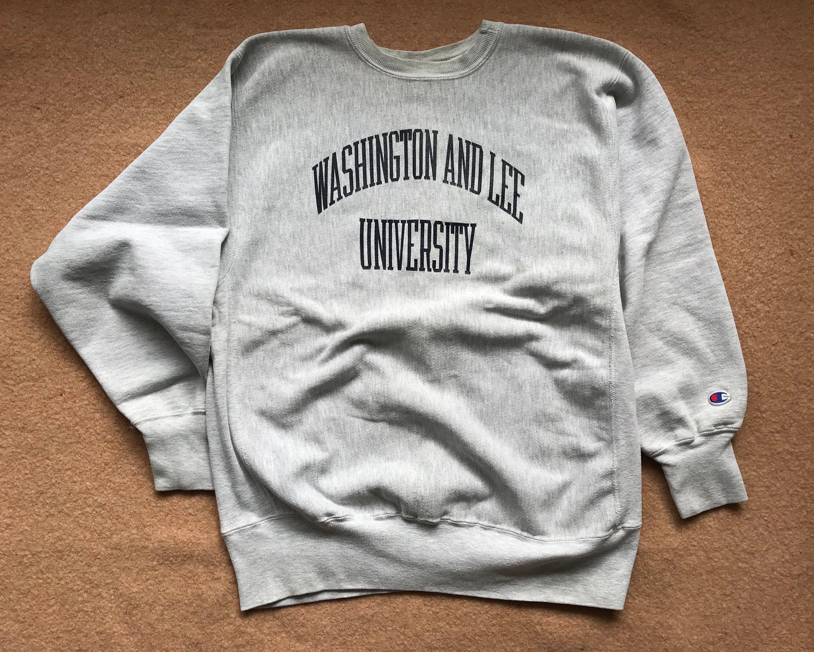Washington And Lee University Sweatshirt Reverse Weave By Etsy Sweatshirts University Sweatshirts Washington And Lee University [ 2250 x 2809 Pixel ]