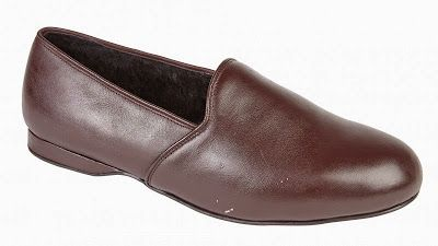 Cosy leather slippers - Mens and Womens