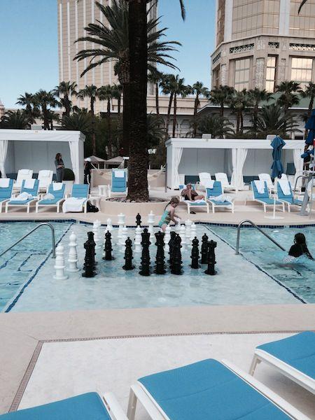 Delano Beach Club Mandalay Bay Hotel Las Vegas Travel
