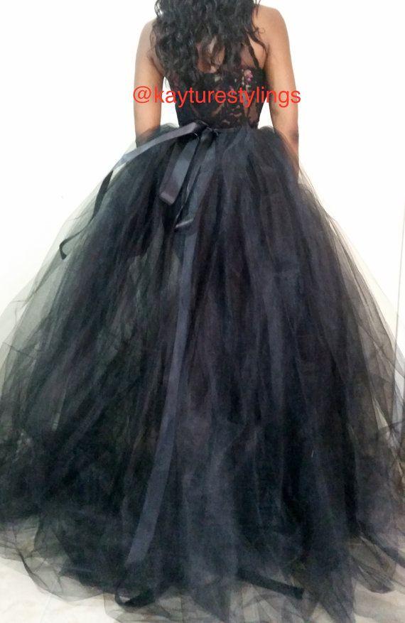 MOLLY *new design* *SKIRT ONLY* custom full ball gown tulle black ...