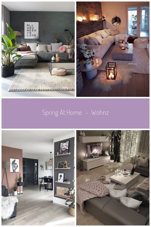 Spring at home Wohnzimmer Wohnklamotte wohnzimmerideen