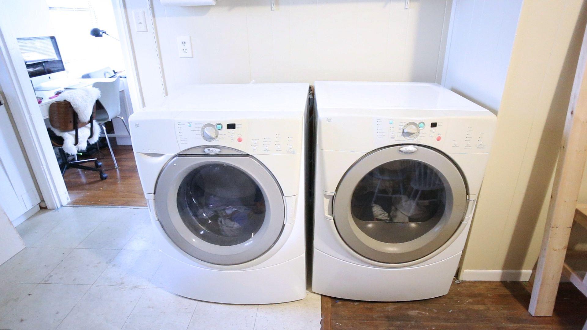 Diy Washer Dryer Surround Countertop Washer And Dryer