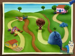 dora-map-printable-wallpapers-2 | Dora the Explorer ...
