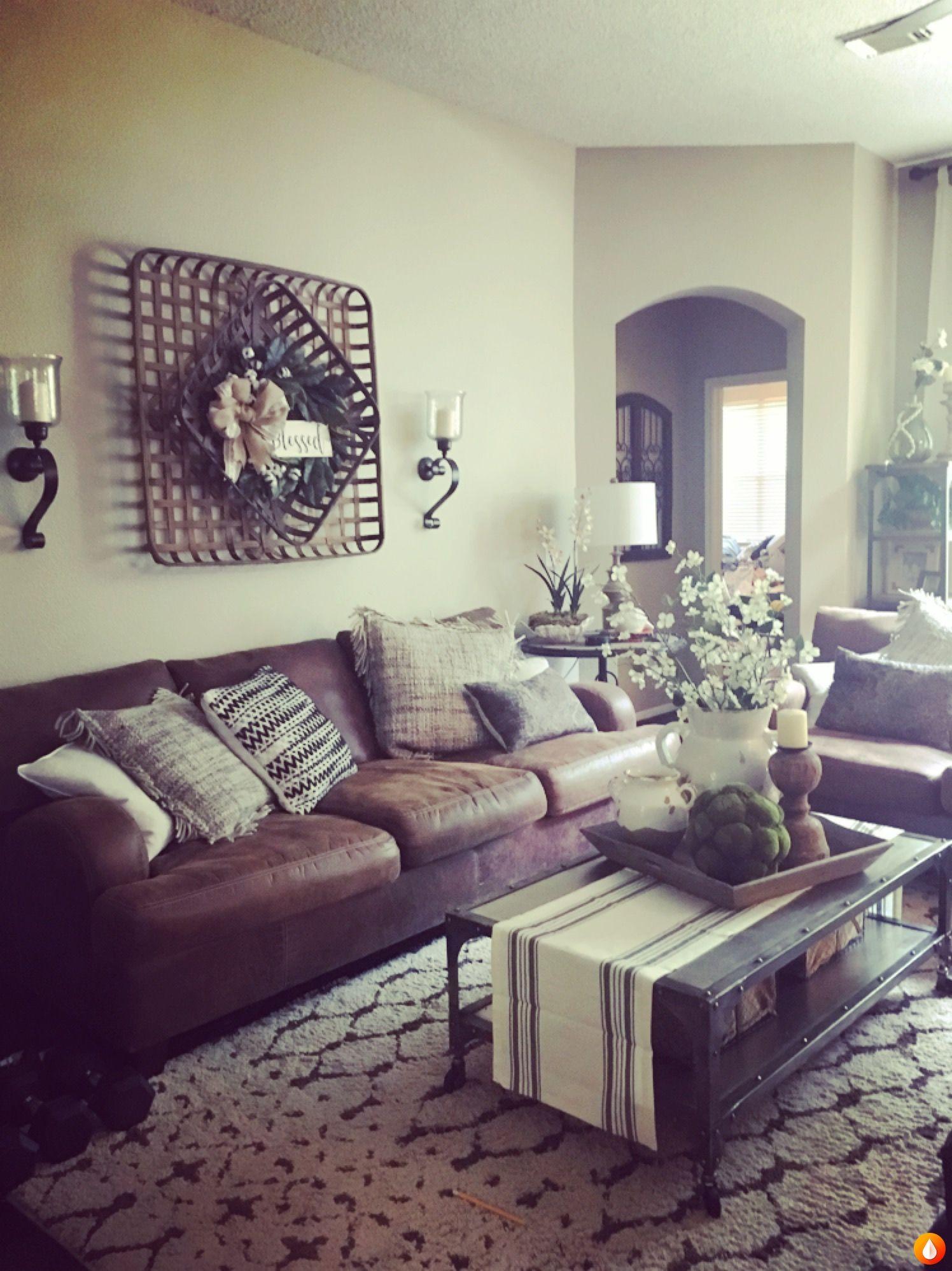 Farmhouse living room decor in my home new also house ideas pinterest rh