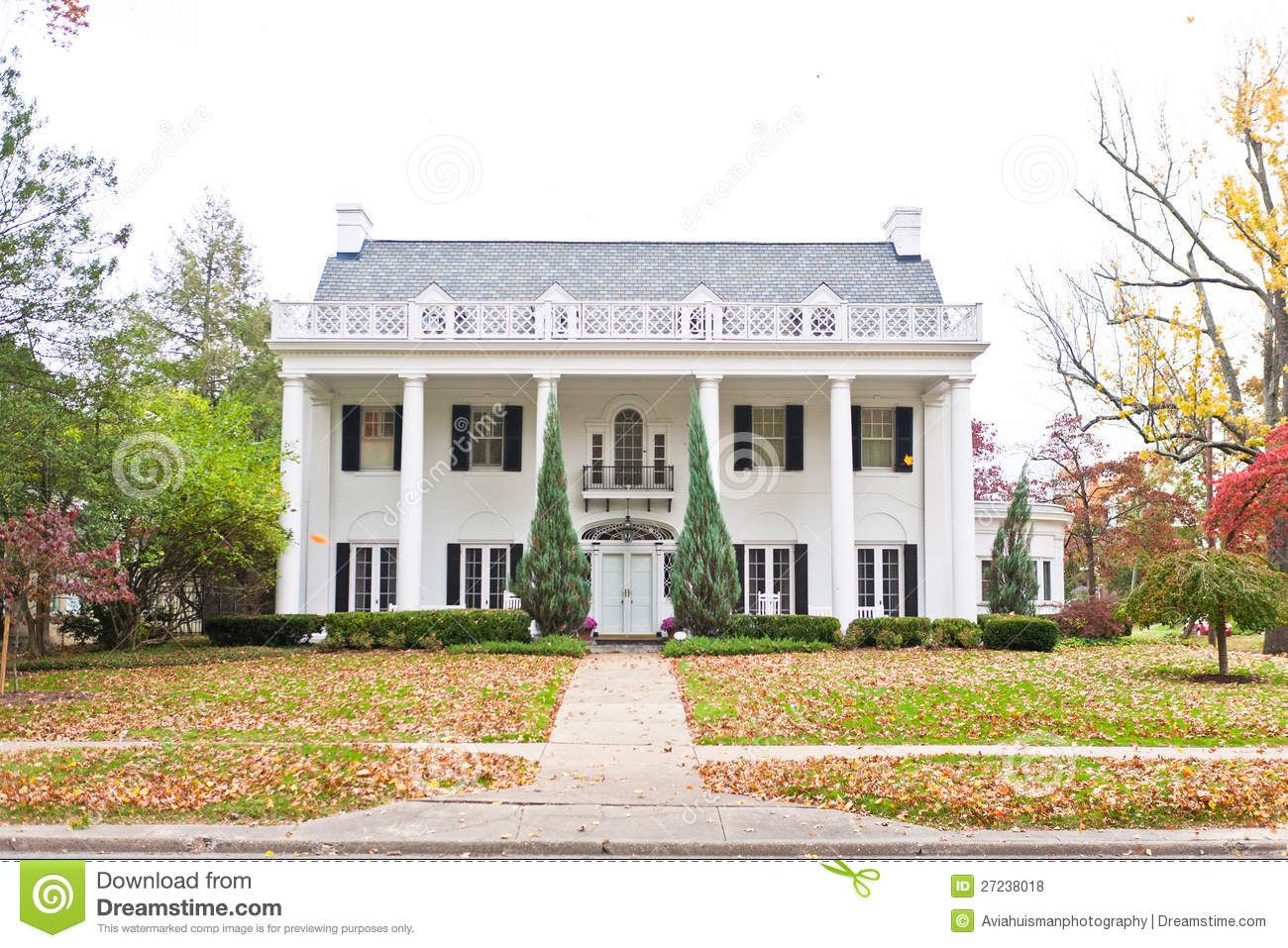 Modern plantation style homes large neo classical style american