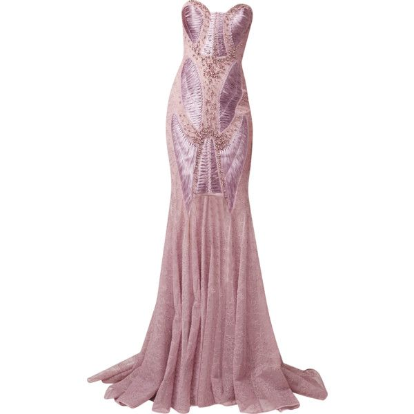 Basil Soda - edited by mlleemilee ❤ liked on Polyvore featuring dresses, gowns, long dresses and vestidos