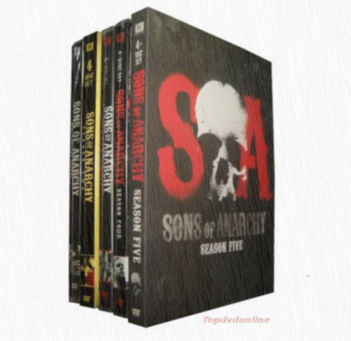 Sons Of Anarchy Seasons 1 5 Dvd Box Set Sons Of Anarchy Dvd Box Boxset