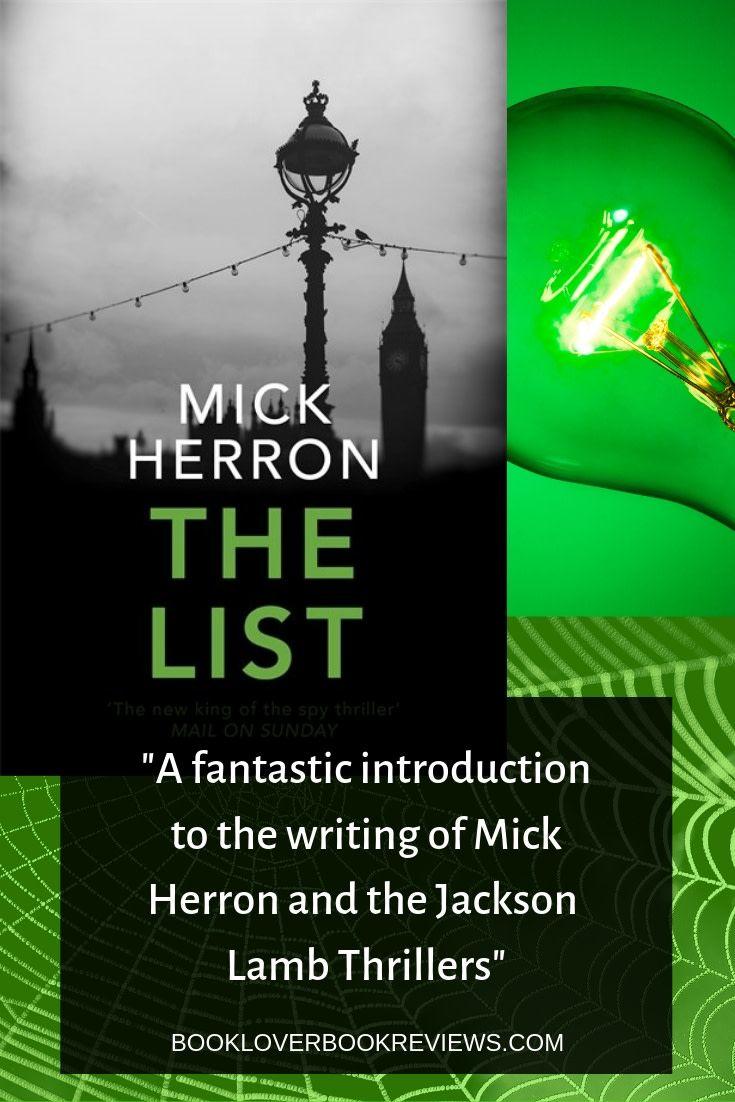 The list by mick herron 25 jackson lamb series book