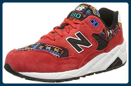 New Balance WRT580, Damen Sneakers, Rot (Red/Aztec), 38 EU ...