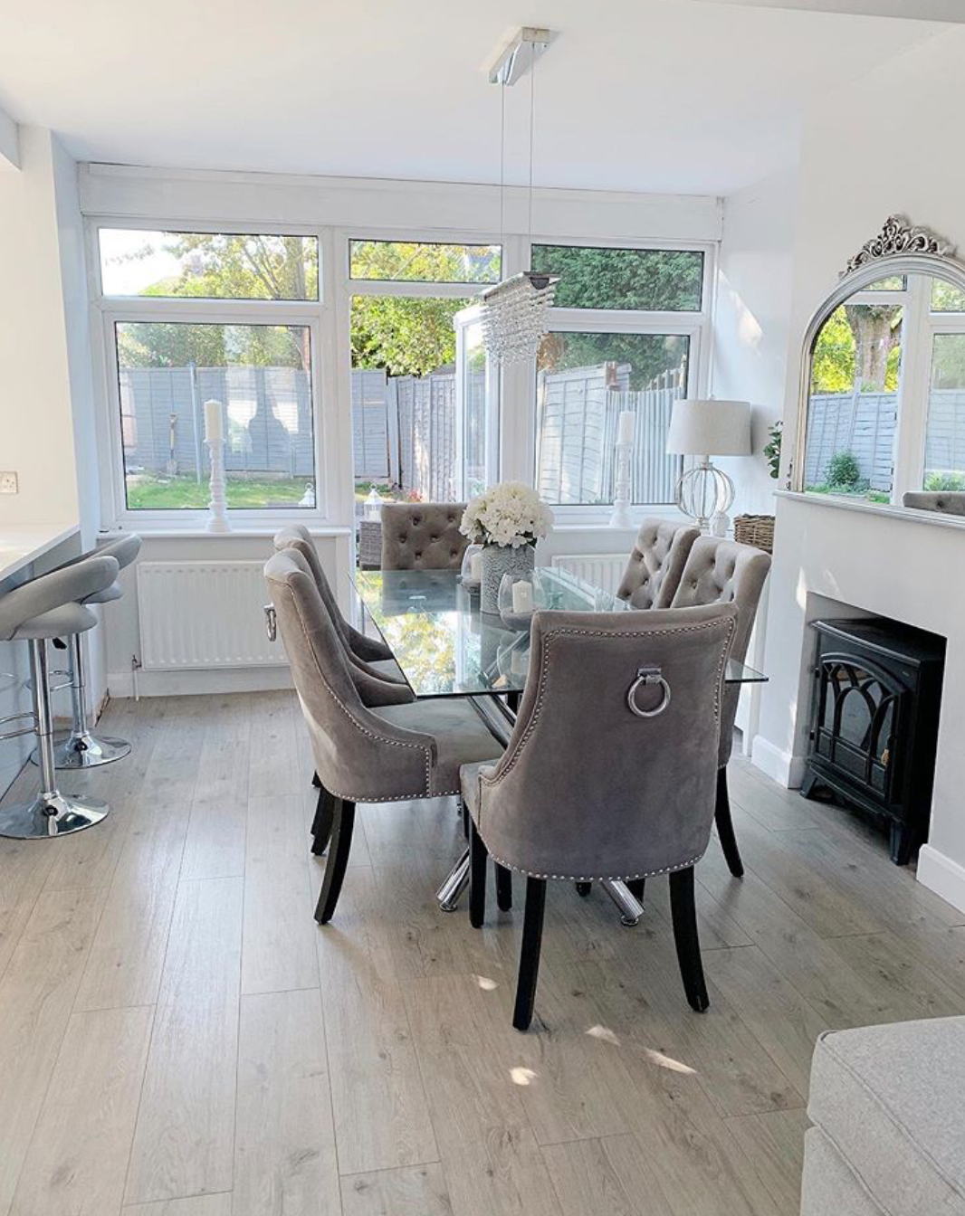 Cottage Soft Pebble Oak Laminate Flooring in 2020 Oak