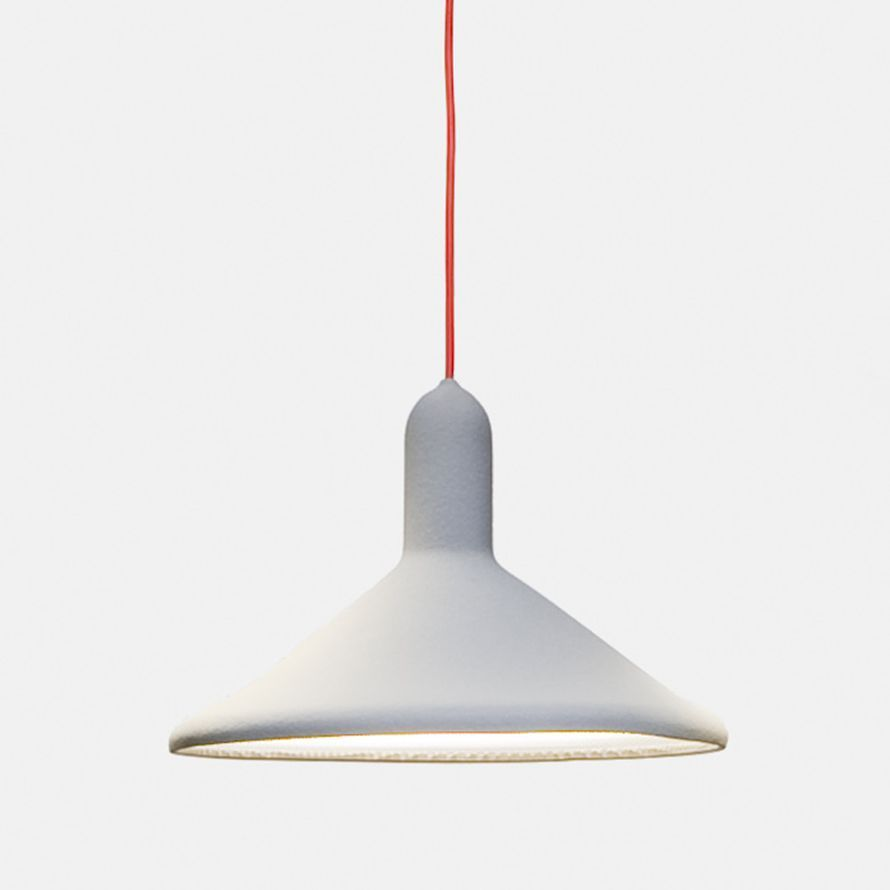 tri philips cone light pendant hanging by