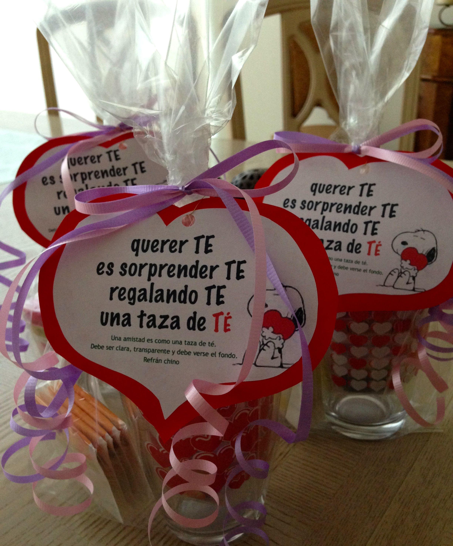 Tazas de t regalos san valentin para tus familiares y amigas diy manualidades pinterest - Ideas para sanvalentin ...