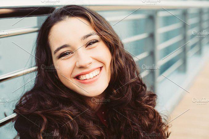 Happy girl.jpg. People Photos