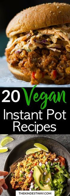20 Easy Vegan Instant Pot Recipes to Try Today images