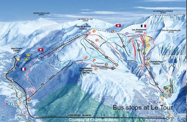 Chamonix Piste Bios Ski Resort Skiing Best Ski Resorts