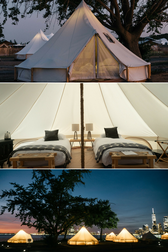 Governors Island Luxury Camping Retreat In Nyc Collective Retreats Luxury Camping Luxury Retreats Retreat