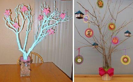 Ramas De Arboles Para Decorar Detalles Cosas Simples Y No Tan - Ramas-de-arboles-para-decoracion