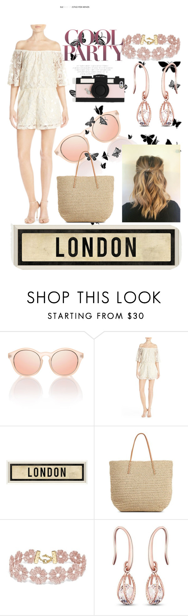 """London party"" by catherineburrows ❤ liked on Polyvore featuring BB Dakota, Dot & Bo, Target, BaubleBar and Kate Spade"