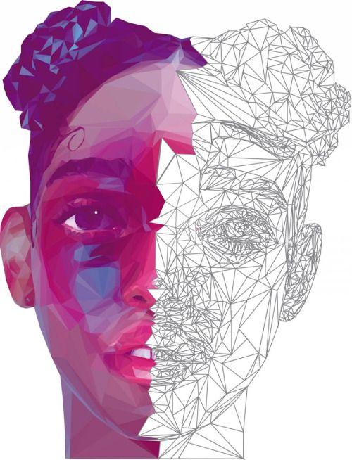 asylum-art-2:  Work in Progress Digital Portraits by Giselle...