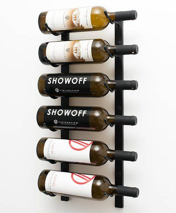 Vintageview Ws21 6 Bottle Wall Mounting Metal Wine Rack 3