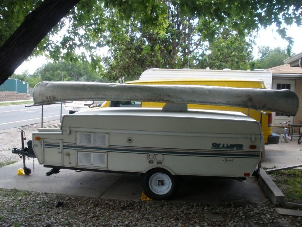Custom built canoe rack canoe rack camper boat canoe
