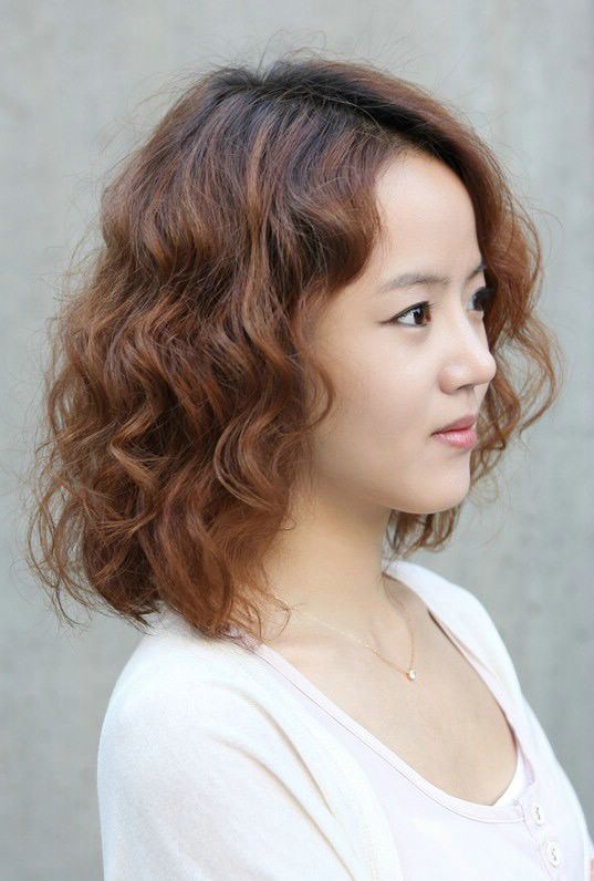 Asian Curly Hairstyles For Medium Hair Cute Hairstyles Idea Short Curly Hairstyles For Women Asian Short Hair Curly Girl Hairstyles