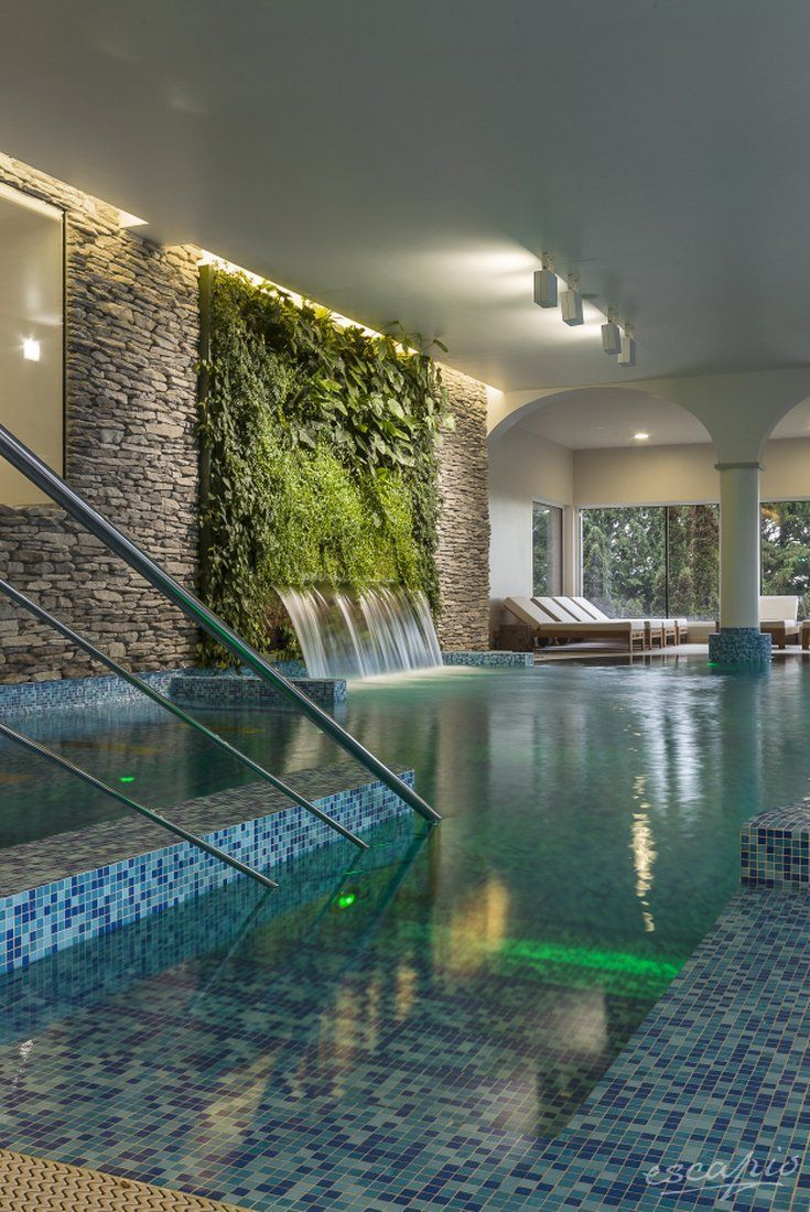 Indoor swimming pool luxus  14 Indoor Swimming Pool Magnificent with Incredible Designs ...