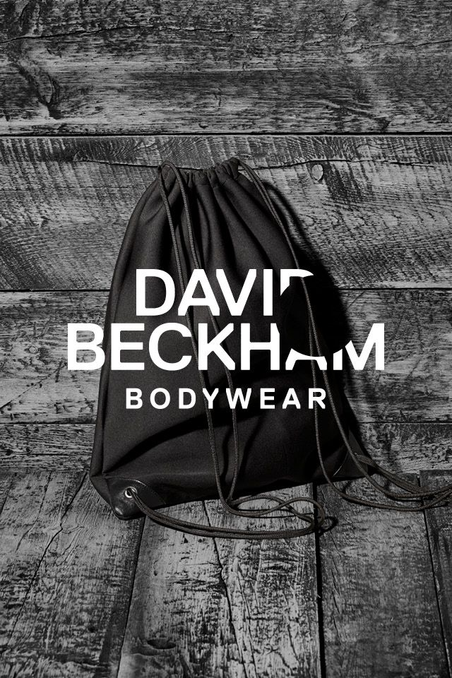 Take this black scuba-style drawstring backpack to a gym, on a trip- anywhere. Bodywear Selected By Beckham collection. | H&M For Men