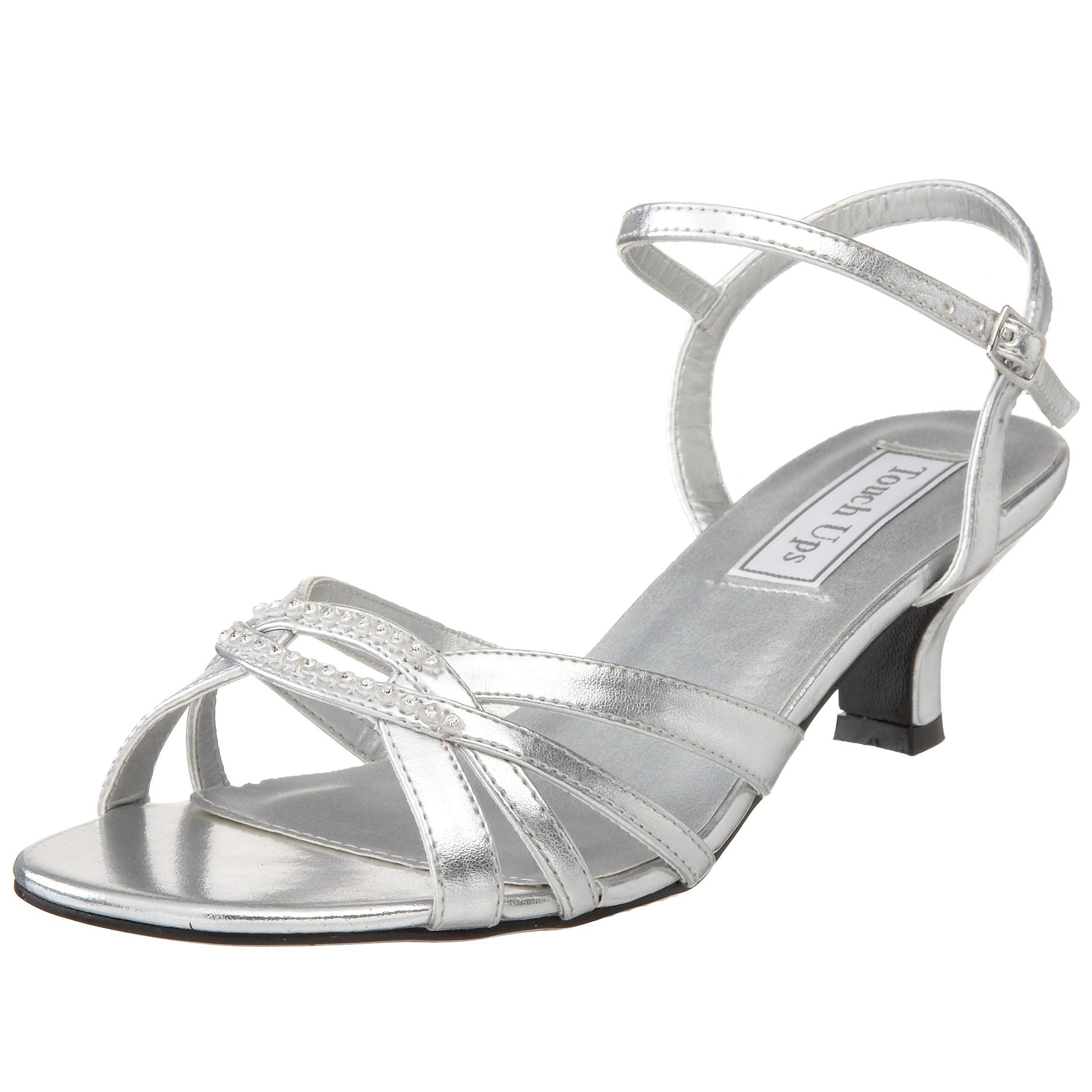 097d234ea62 The Dakota sandal from Touch Ups makes it easy to go glam. The delicate  design is easy to wear thanks to its low heel and adjustable ankle strap ...