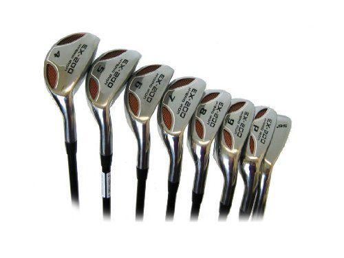 Powerbilt Ex 200 Hybrid Iron Set Golf Clubs Store Break Golf Club Golfing Ironing Set Golf Iron Sets Golf Clubs