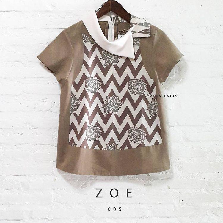 @batik_nonik   Desain blus, Model pakaian, Gaya busana