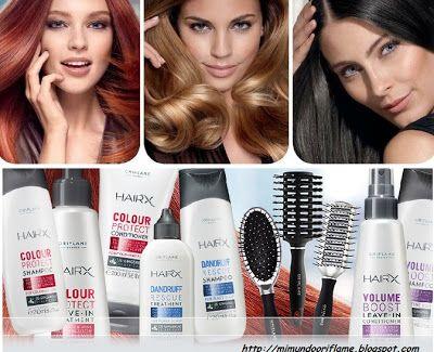 HAIRX hiustenhoitotuotteet, erittäin laadukkaat! www.oriflame.fi
