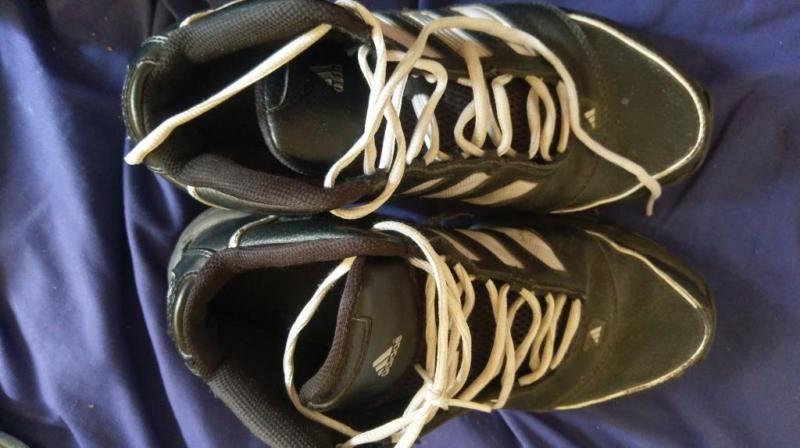 Top erhaltene schwarze Adidas Top Ten High Damen Sneakers Gr