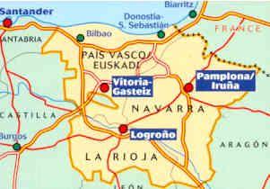 Spagna Nord Cartina.Mappa Stradale N 573 Spagna Nord Pais Vasco Euskadi Paesi Baschi Navarra La Rioja Paesi Baschi Spagna Baschi
