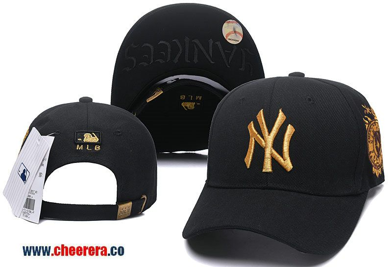 f284cb1b5de Discover ideas about New York Yankees. 2018 New MLB New York Yankees  Adjustable Snapback Hat in Black ...